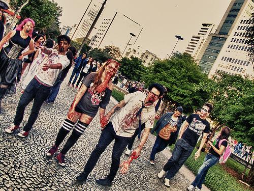 Ein Zombiewalk